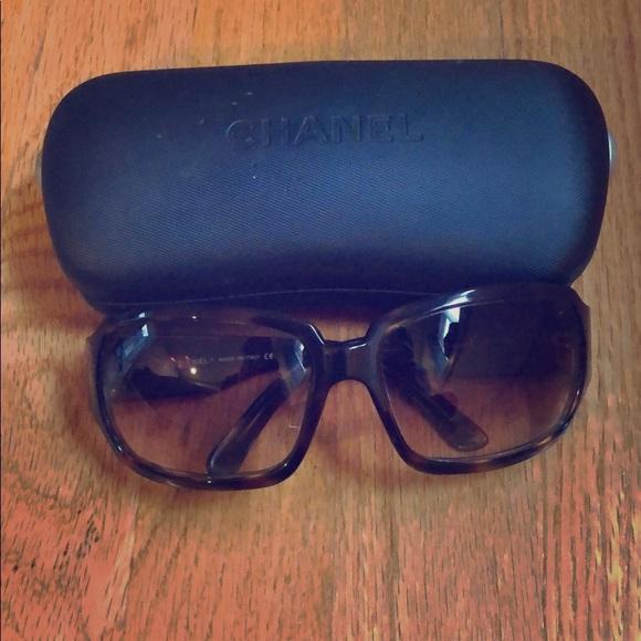 cc9b2eedb982 CHANEL Accessories - Tortoise CHANEL Sunglasses